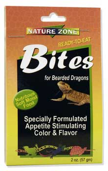 Nature Zone Bites for Bearded Dragons, 1 gal