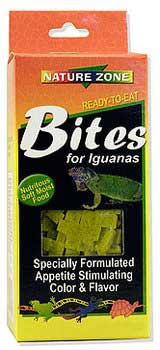 Nature Zone Bites for Iguanas, 2 oz