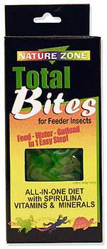 Nature Zone Bites for Feeder Insects, 9 oz
