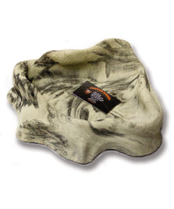 T-REX Canyon Corner Dish, black granite