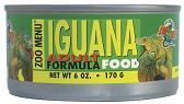 Zoo Med Zoo Menu Canned Adult Iguana Food, 6 oz