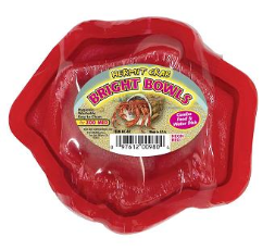 Zoo Med Hermit Crab Bright Bowls-Food/Water Dish Combo