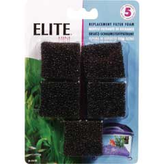 Elite Mini Filter Foam 5pack