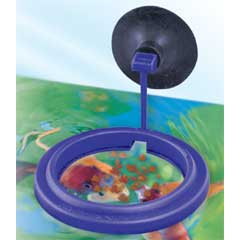 Nutrafin Max Feeding Ring, w/ suction cup