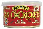 Zoo Med Can O' Crickets, mini size, 1.2 oz.