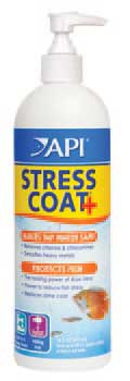 API Stress Coat w/Pump, 16 fl oz