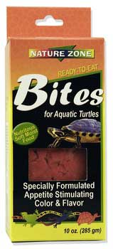 Nature Zone Bites for Aquatic Turtles, 2 oz