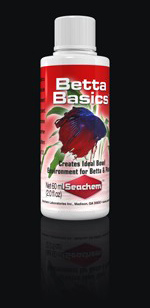 Seachem Betta Basics, 2.05 fl oz