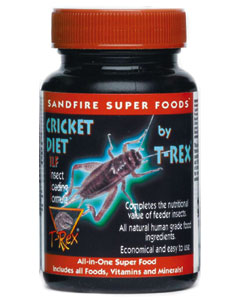T-REX Cricket Diet Insect Loading Formula