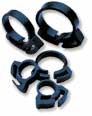 "Two Little Fishies Ratchet Clip-3/8"" Plastic Hose Clamps"