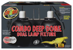 Zoo Med Large Combo Deep Dome Fixture