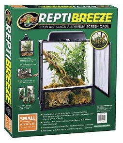 "Zoo Med ReptiBreeze Screen Cage, 16"" x 16"" x 20"""