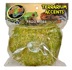Zoo Med Terrarium Accents Frog Moss